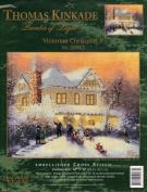 Thomas Kinkade Victorian Christmas II - Embellished Cross Stitch