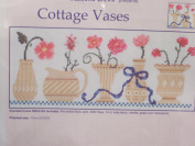 Cottage Vases Counted Cross Stitch Kit