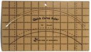 Quick Curve Ruler (18cm x 30cm ) by Sew Kind of Wonderful Contemporary Quilt Designs