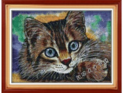 Happy Forever Cross Stitch,The animals, The cat