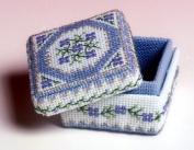 The Nutmeg Company Periwinkle Box 3D Cross Stitch Kit
