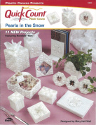 Quick Count Plastic Canvas Pearls In The Snow by The Needlecraft Shop