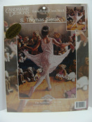 The Audition by S. Thomas Sierak Embellished Cross Stitch Kit