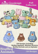 Anita Goodesign Embroidery Designs Cd Stuffed Animals