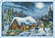 Happy Forever Cross Stitch, The scenery, The most beautiful snowy day