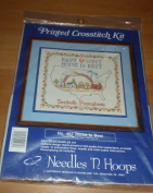 Home Is Best Printed Cross Stitch Kit
