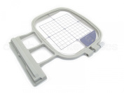 Medium Embroidery Hoop - 10cm x 10cm - SA438 Replacement - for Brother Innov-is 4000D 5000 500D 2200 2500D 2800D 1500 1500D 2200D Quattro Ellegante Ellisimo - Generic SA438 EF74 Replacement