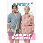 Spinrite Patons Knitting and Crochet Pattern Book, Summer Standouts-Silk Bamboo