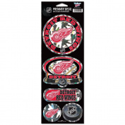 Detroit Red Wings Prismatic Stickers