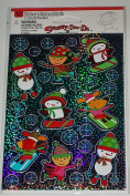 Holographic Christmas Stickers