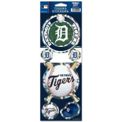 Detroit Tigers Prismatic Stickers