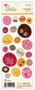 Daisy Chipboard Buttons-rounds