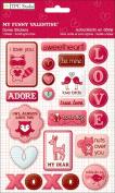 My Funny Valentine Dome Stickers // TPC Studio