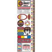 Real Magic Die-Cut Stickers 11cm x 33cm -Combo