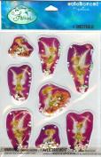 Disney Fairies Tinkerbell Dimensional Bubble Scrapbook Stickers