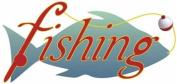 Fishing Rub-On for Scrapbooking