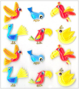 Jolee's Boutique Cabochons Dimensional Stickers, Birds