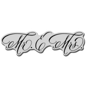 Stampendous Cling Rubber Stamp 8.9cm x 10cm Sheet-Married Monograms