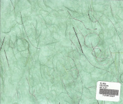 CELADON - Unryu paper with silver thread