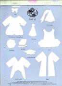 Accucut Jill's Paper Doll Template - Dress Up