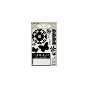 Collectable Memorable Clear Acrylic Stamps-Hello