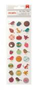 American Crafts Autumn Crisp Oak Lane Tiny Puffy Scrapbook Stickers