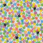 Whimsical Printed Paper- Maple Leaves 50cm x 70cm Sheet