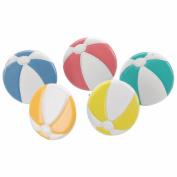 Eyelet Outlet Shape Brads-Beach Ball 12/Pkg