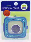 Beach Stretchy Frame For 3D & Flat Framing for Craft Projects Blue & Aqua #09001 Beach by Around The Block