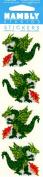 Dragon Sparkle Scrapbook Stickers