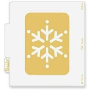 Sizzix Simple Impressions SNOWFLAKE #2 Embossing Folder 38-9572