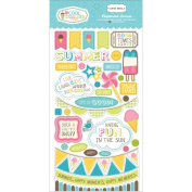 Carta Bella Cool Summer 6x13 Chipboard