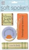 Me & My Big Ideas Soft Spoken 3 Dimensional Embellishments-Thanksgiving Memories