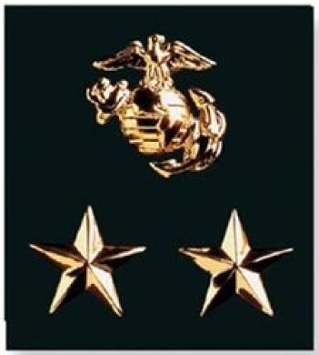 K & Company Insignia Metal Charms-Marines