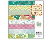 Acorn Avenue Paper Pad 15cm x 15cm 36/Sheets-18 Designs/2ea