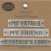 Metal Stencils - Father