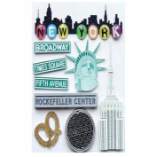 Jolee's Boutique Dimensional Stickers-New York