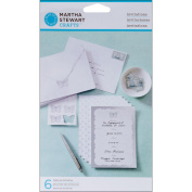 Martha Stewart Crafts Invitations, Doily Lace Butterfly