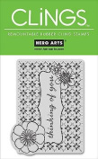 Hero Arts CLINGS Rubber Stamp / Thinking of you