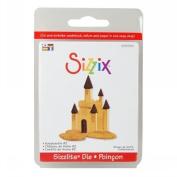Sizzix Sizzlits Singles Die-Small Sandcastle 2