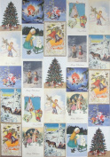 One Sheet San Lorenzo Italy - Christmas Postcards Poster