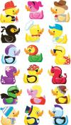 EK Success Brands Sticko Stickers, Costume Ducks