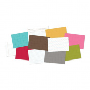 Sn@p! Double-Sided Cardstock Quote Cards 10cm x 15cm 48/Pkg-Just The Basics