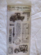 Tim Holtz Visual Artistry Collection Stampers Anonymous Clear Stamps - The Journey