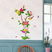 [Floral Fragrance] Decorative Wall Stickers Appliques Decals Wall Decor Home Decor