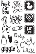 Nursery Icons - Clear Stamps