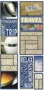 Travel Photo Banner Cardstock Scrapbook Stickers