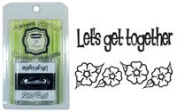 Just Rite Stampers 2 X Stampers - Let's Get Together & Flowers