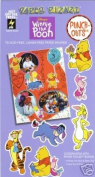 Winnie the Pooh Tigger Piglet Eeyore Rabbit 72 Paper Punch-outs for Scrapbooking