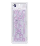 KI Memories(R) Clear Stamps-Disco Dots Alphas